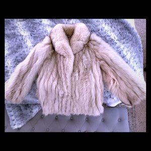 Jackets & Blazers - Fox Fur coat